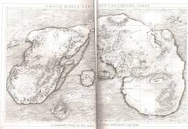 Best Map Lord Of The Rings Most Accurate Map Of Arda Before Beleriand Was