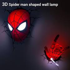 aliexpress com buy dreammaster 3d wall lamp cartoon spiderman