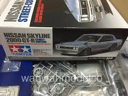 custom nissan skyline tamiya 24335 1 24 nissan skyline 2000 gt r street custom wah