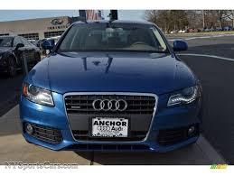 audi a4 2 0 t premium 2009 audi a4 2 0t premium quattro sedan in aruba blue pearl effect