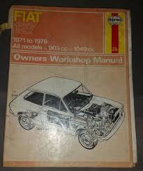 fiat 127 1971 1979 haynes manual u2022 0 99 picclick uk