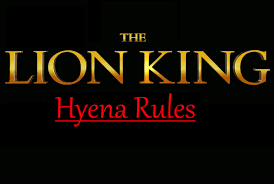 lion king 3 hyena rules lion king fanon wiki