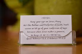 personalized cards personalized scripture cards in lucite holder