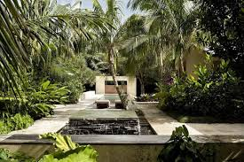 Tropical Landscape Design by Modern Tropical Landscape