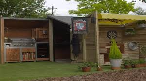 this shed is a bbq lover u0027s dream youtube