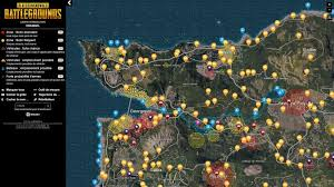 pubg interactive map playerunknown s battlegrounds découvrez l univers de pubg