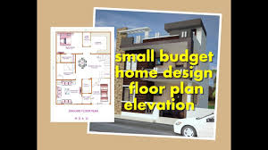 Home Floor Plans 1200 Sq Ft by Small Budget Home Design 1200 Sq Ft 30 40 Floor Plan