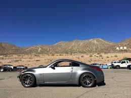 nissan 350z black rims nissan z33 350z staggered rt8 u0027s ambit wheels