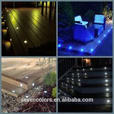 Led Patio Lights Buried In Concrete Driveway Dek Dots Led Deck Ights Walkover Led