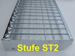 bausatz treppe stahltreppe 13 stufen vario pro 600 feuerverzinkt