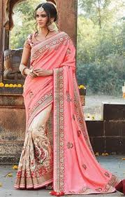 buy engagement sarees for draping styles with designer choli