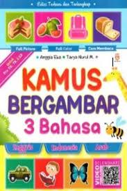 Kamus Bahasa Inggris Bukukita Kamus Bergambar 3 Bahasa Inggris Indonesia Arab