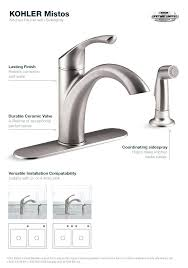 kohler faucets kitchen kohler kitchen faucet kitchen faucets parts captivating kitchen