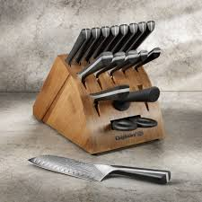 Custom Japanese Kitchen Knives Calphalon Katana Series 18 Pc Cutlery Set Calphalonusastore