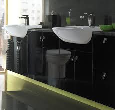 Eco Bathroom Furniture Black Bathroom Vanity Units Bold Ideas Home Ideas