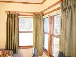 Window Length Curtains Corner Windows