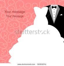 Groom And Groom Wedding Card Wedding Card Dresses Bride Groom Wedding Stock Vector 553464625