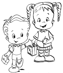 friendship coloring page for preschool best friendship