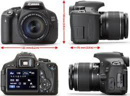 canon eos 600d rebel t3i digital camera 18mp cmos sensor digic 4