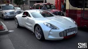 mazad car aston martin one 77 q series arab hypercar in london youtube