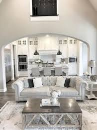 what you think abut this open plan kitchen living room design