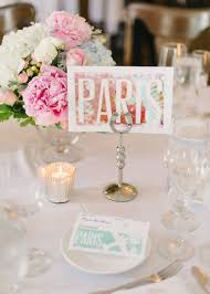 themed table numbers trending wedding table number ideas mywedding
