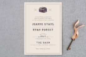 barn wedding invitations the barn wedding invitations by the social type minted