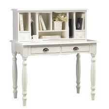 secretaire bureau bureau secrétaire blanc de style anglais maison et styles