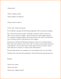 Follow Up Letter For Business Proposal by 3 How To Write A Business Proposal Letter Receipts Template