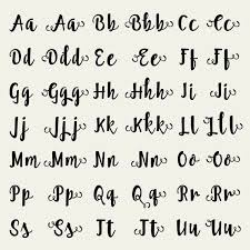 best 25 full alphabet fonts ideas on pinterest letter fonts