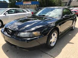 2001 Black Mustang 2001 Ford Mustang Convertible In Michigan For Sale 12 Used Cars