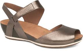 the dansko pewter nappa from the vera collection