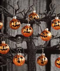 bethany lowe o lantern pumpkin mini glass ornaments