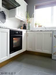 paint kitchen tiles backsplash how to paint a tile backsplash my budget solution