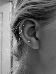 hoop cartilage piercing best 25 cartilage piercing hoop ideas on cartilage