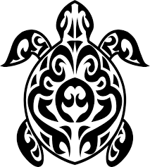 turtle tribal designs clipart panda free clipart images