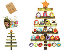 view advent trees by babywhatknots on etsy