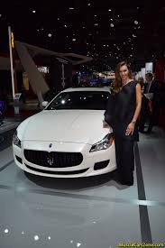 maserati woman experience the best moments of 2014 paris motor show like you u0027ve