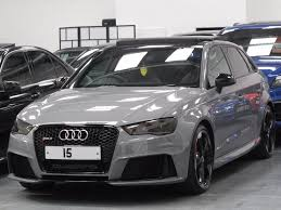 audi rs3 sportback for sale usa used 2015 audi rs3 sportback quattro 5dr for sale in bradford