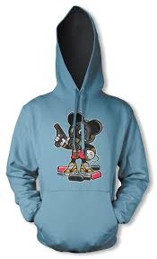 bnwt gangster mickey mouse killer jason mask hoodie kids 3 12 yrs