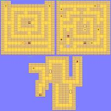 Phantasy Star 2 World Map by Phantasy Star Cave Maps The Best Cave