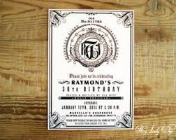 birthday invitation jack daniels etsy