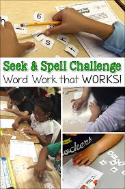 Why Won T The Challenge Work Corkboard Connections Seek Spell Challenge Word Work That Works