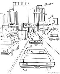 car coloring pages print coloring
