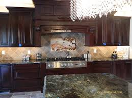 Kitchen Backspash Kitchen Backsplashes For Dark Cabinets Pretty U2013 Home Design And Decor