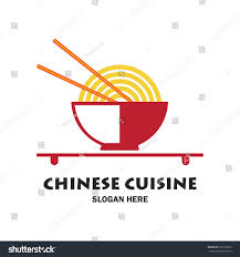 chinese restaurant chinese food logo text stock vector 615516926