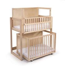 Convertible Crib Twin Bed by Double Decker Bunk Bed Stacked Cribs Must Save Space Right