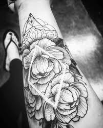sunflower and rose tattoo tattoo design