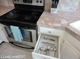 Old Kitchen Cabinet Makeover Livelovediy The Chalkboard Paint Kitchen Cabinet Makeover