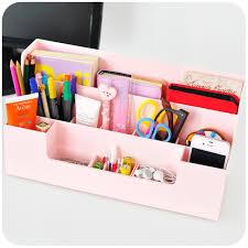 Plastic Office Desk Multifunctional Desktop Storage Rack Shelf Home Office Desk Sort